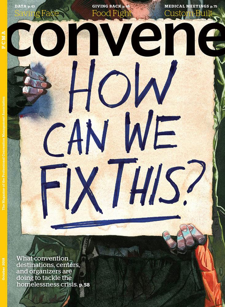 October 2018 Convene Cover